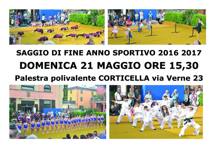 SAGGIO DI FINE ANNO SPORTIVO 2016 2017 copia